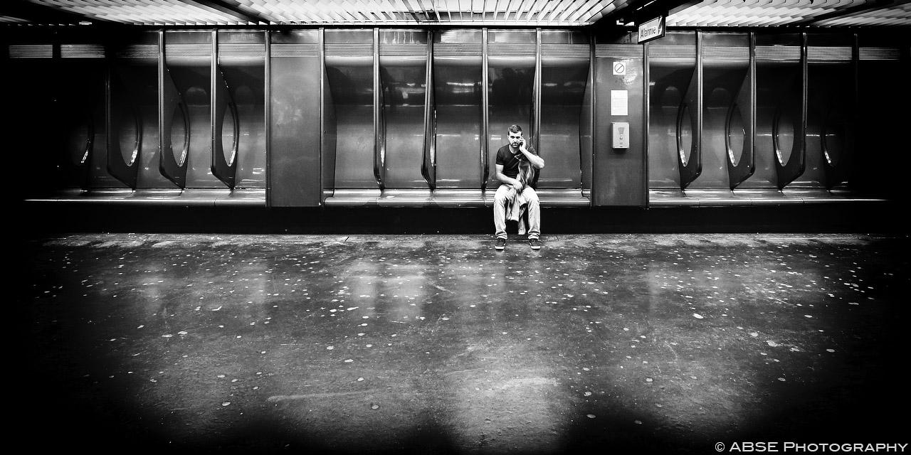IMAGE: http://blog.absephotography.com/wp-content/uploads/2015/08/paris-france-black-and-white-metro-underground-mobile-phone-39.jpg